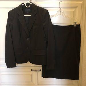 Banana republic black skirt suit 6